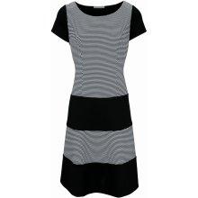 fbdd9edfc3a9 heine TIMELESS princesové šaty s tvarovacím efektem bílá černá