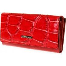 Lorenti Dámská kožená peněženka 72031-KR červená