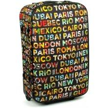 David Jones 4008 kufr velký 45x26x74 cm, barva mix