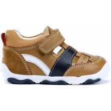 55c5737e416 Geox Chlapecké sandály New Balu - hnědé