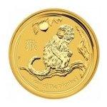Lunární Zlatá mince Rok opice serie II. 1 Oz