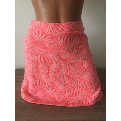 Bershka vzorovaná sukně č.1 barevná