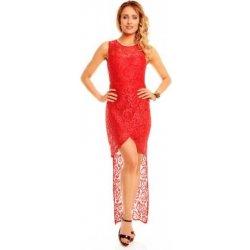 a69634671 Dlouhé červené krajkové šaty do společnosti od 899 Kč - Heureka.cz