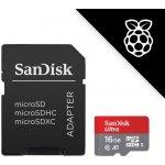 SanDisk microSDHC UHS-I U1 16GB SDSQUAR-016G-GN6IA