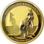 Kangaroo Zlatá mince Klokan 1 2 Oz