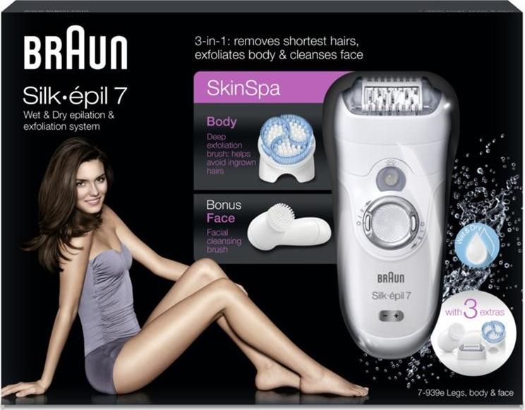 BRAUN Silk-épil 7 7-939E Wet Dry od 1 675 Kč - Heureka.cz d90dc12c44