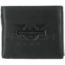 Greenburry Kožená peněženka 1796-Wing 20 černá