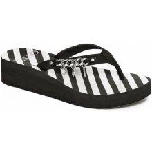 Guess Maelle Platform Flip Flops black