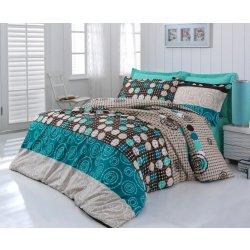 Kvalitex bavlna povlečení Circles 140x200 70x90