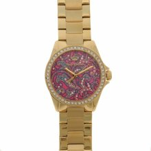 Juicy Couture Laguna Watch Ld84 Gold/Pink