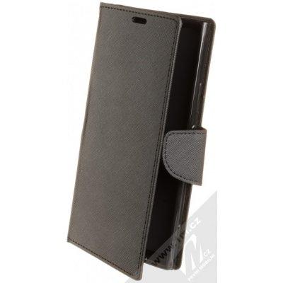 Pouzdro Forcell Fancy Book Sony Xperia XA2 Ultra černé