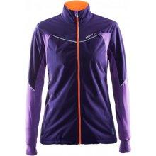 Craft dámská běžecká bunda Run Defense fialová