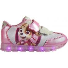 2aee88936cb Cerda dívčí tenisky Paw Patrol svítící LED růžové