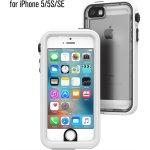 Pouzdro Catalyst Waterproof case Apple iPhone 5/5S/SE - bílé