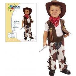39326355499c Dětský karnevalový kostým Šaty KOVBOJ