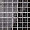 Opoczno Palette black glossy mosaic - obkládačka mozaika 30x30 černá OP041-005-1