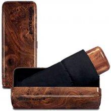 Pierre Cardin MYBRELLA WOOD pánský deštník v krabičce manuální černá