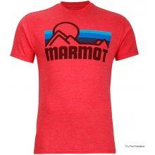 Marmot Coastal Tee SS Tru Red Heather
