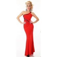 EU Plesové červené šaty st-sa208re