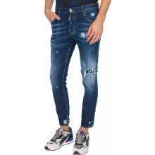 Skater Jeans DSQUARED2 Modrá