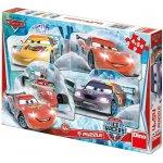 Dino Puzzle Cars na ledě 20x13cm 4xv krabici 33x23x3 54 dílků