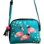 Disaster Designs kabelka Candy Pop Flamingo barevná