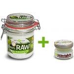 Purity Vision Raw Kokosový olej Bio 300ml + Bambucké máslo 15ml Zdarma