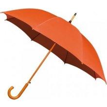 Dámský holový deštník AUTOMATIC-oranžový