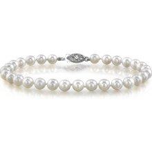 Náramek Klenota ze sladkovodních perel stříbro kln5001