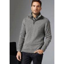 GUIDO MARIA KRETSCHMER Pletený pulovr, šedá-melír