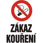 Zákaz kouření - Zákazová plastová cedule A4