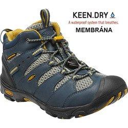 Dětská bota Keen Koven Mid WP Midnight navy/Tawny olive