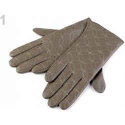 0b464e2a34b Stoklasa dámské kožené rukavice prošívané 1 béžová tm. alternativy ...
