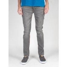 Etnies kalhoty E1 Slim Worn black šedá