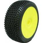 PROCIRCUIT ROAD RUNNER super soft/fial. směs Off-Road 1:8 Buggy gumy nalep. na žlutých disk. 4ks