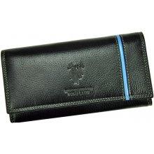 Harvey Miller Polo Club dámská kožená peněženka 5313 PL11 černá