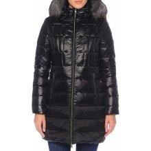 Calvin Klein dámský černý péřový kabát