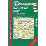 Soubor map 54 Rychlebské hory a Lázně Jeseník 1 : 50 000