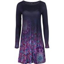 63ca660b206d Desigual dámské šaty Troya tmavě modrá