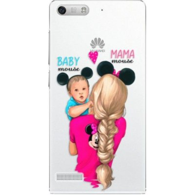 Pouzdro iSaprio Mama Mouse Blonde and Boy - Huawei Ascend G6