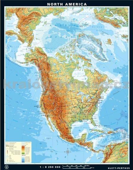 Pridat Uzivatelskou Recenzi Severni Amerika Nastenna Mapa