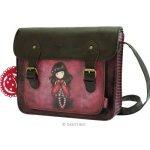 Santoro London Gorjuss taška přes rameno Ladybird hnědá/vínová