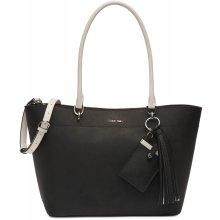 Calvin Klein Susan leather black white silver 119aa81ae57