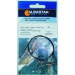 Albastar Ocelové lanko s trojháčkem 40cm 7kg 2ks
