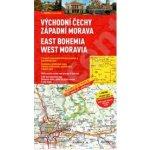 ČR 2 Východní Čechy, Západní Morava 1:200 000