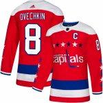 2906e2c054129 Adidas Dres Washington Capitals #8 Alexander Ovechkin adizero Alternate  Authentic Player Pro