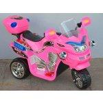 Bayo elektrická motorka FX střední velikost růžová