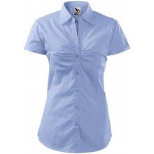 Adler Dámská košile s krátkým rukávem Chic - Nebesky modrá