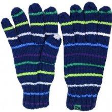 Loap Coul 1215 modré pletené dámské rukavice