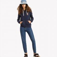 34d881cb436 Tommy Hilfinger dámská tmavě modrá mikina Logo 002